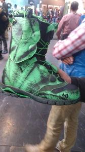 La boots Northwave avec un bon  débattement.