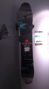 Nouvelle Splitboard avec le stabilisateur